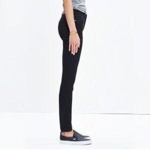 "32TL Madewell 9"" High Riser Skinny Skinny Jeans"
